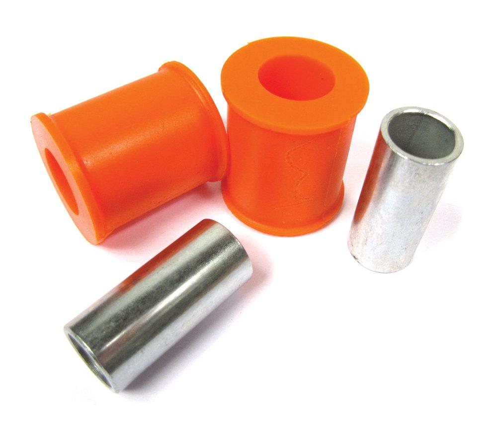 Orange Polybush Panhard Rod Pair 1