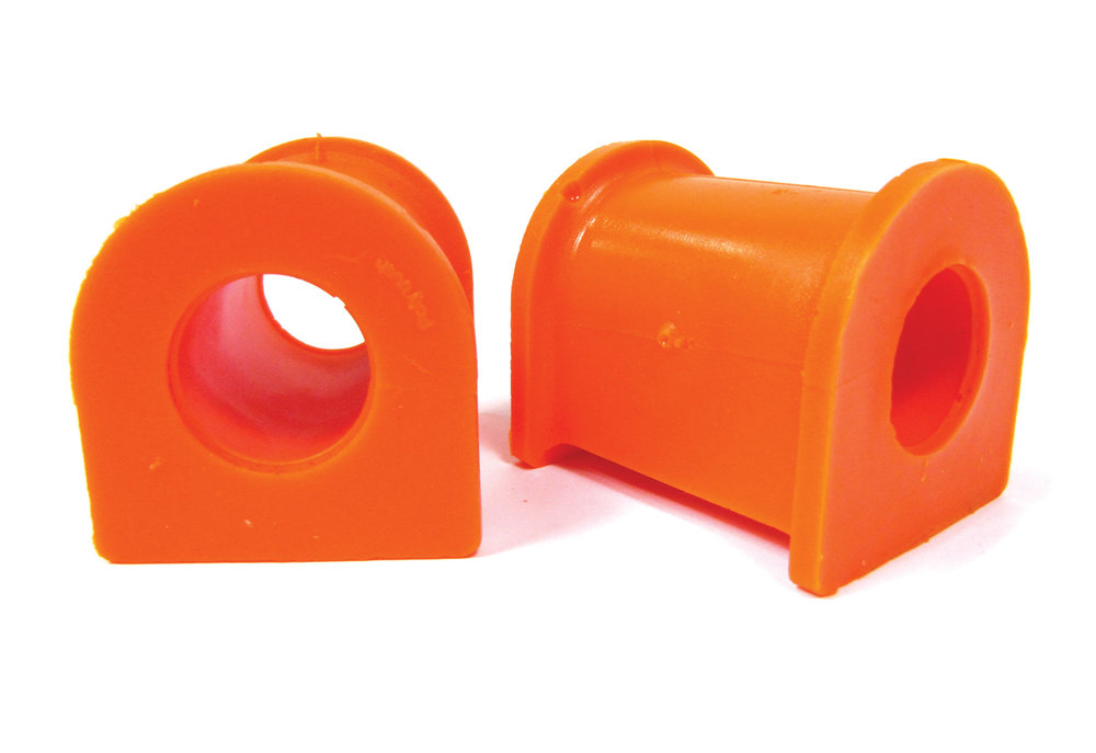 Orange Polybush Front Pair 2