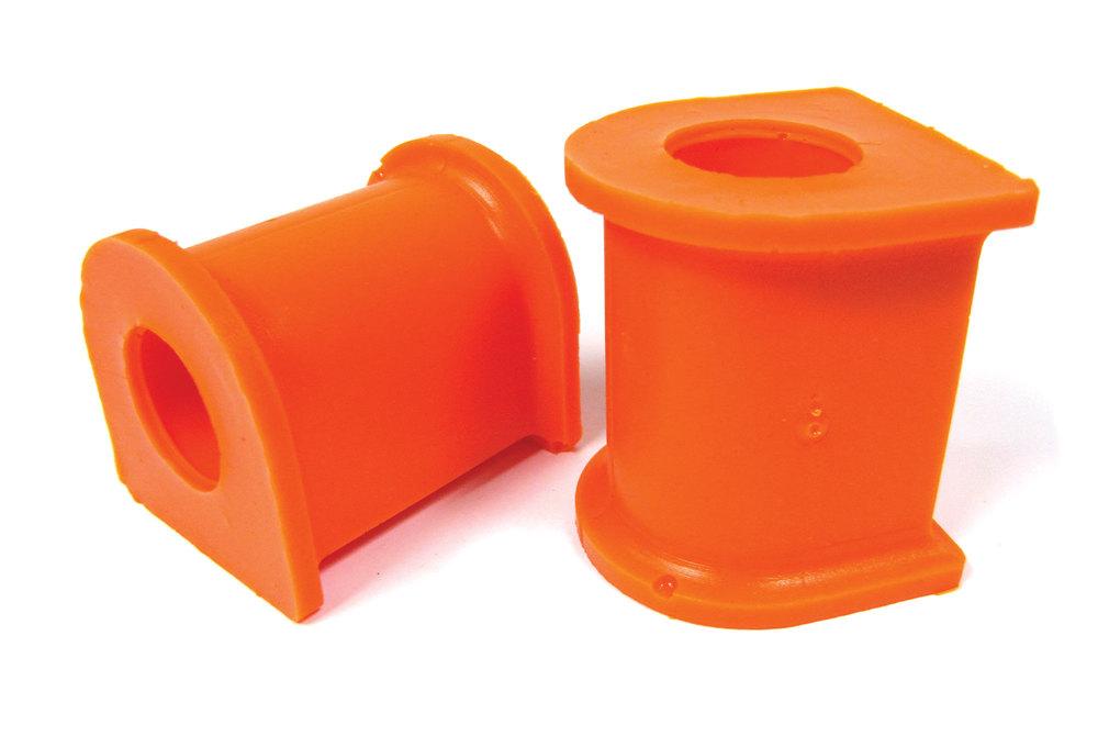 Orange Polybush Front Pair 3