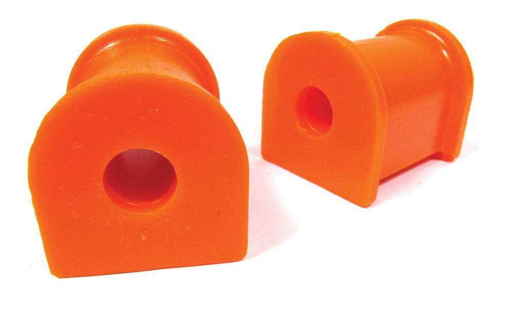 Orange Polybush Rear Pair 2