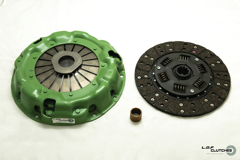 LOF ROADspec Clutch Assembly For Land Rover Series 2A, 9.5-Inch Clutch Size