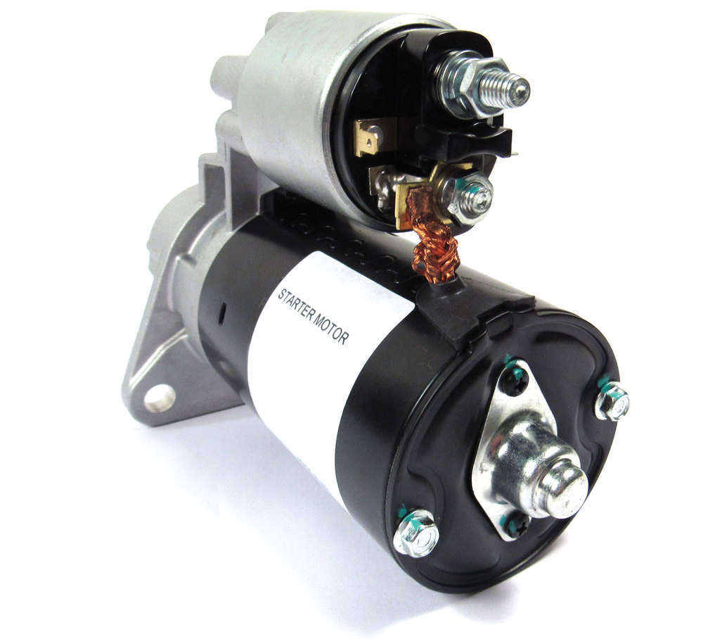 Land Rover Starter Motor (V8), New By Lucas, For Land Rover Discovery I, Discovery Series II, Defender 90 And 110, Range Rover Classic And Range Rover P38