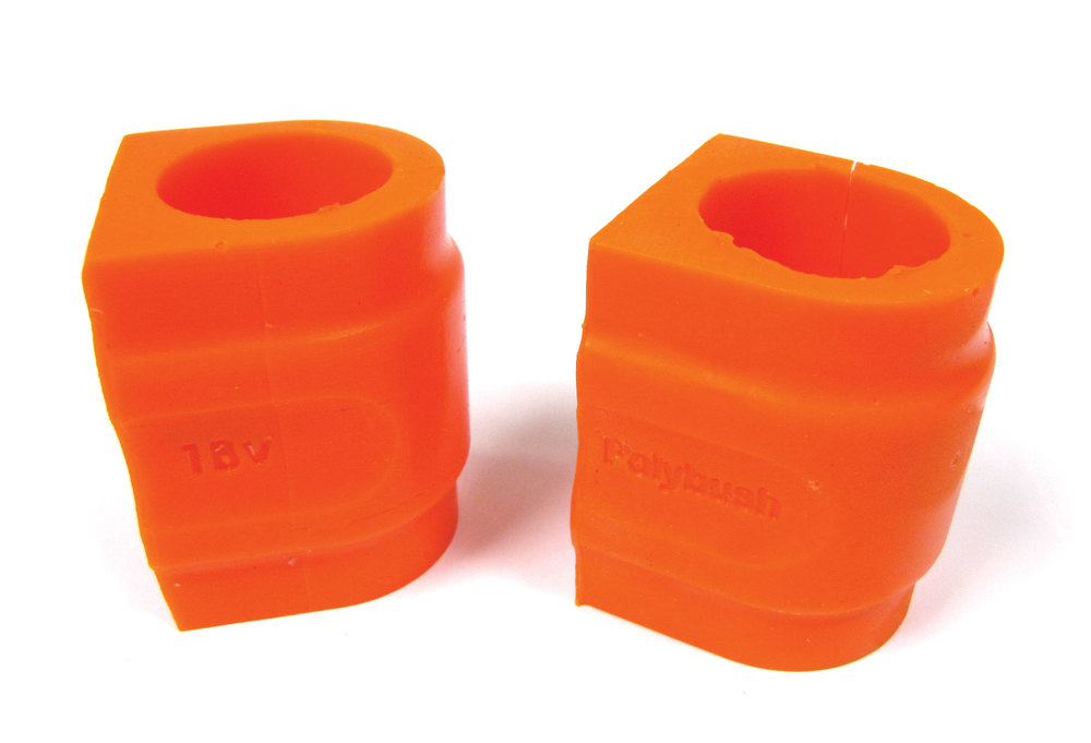 Orange Polybush Rear Pair 2