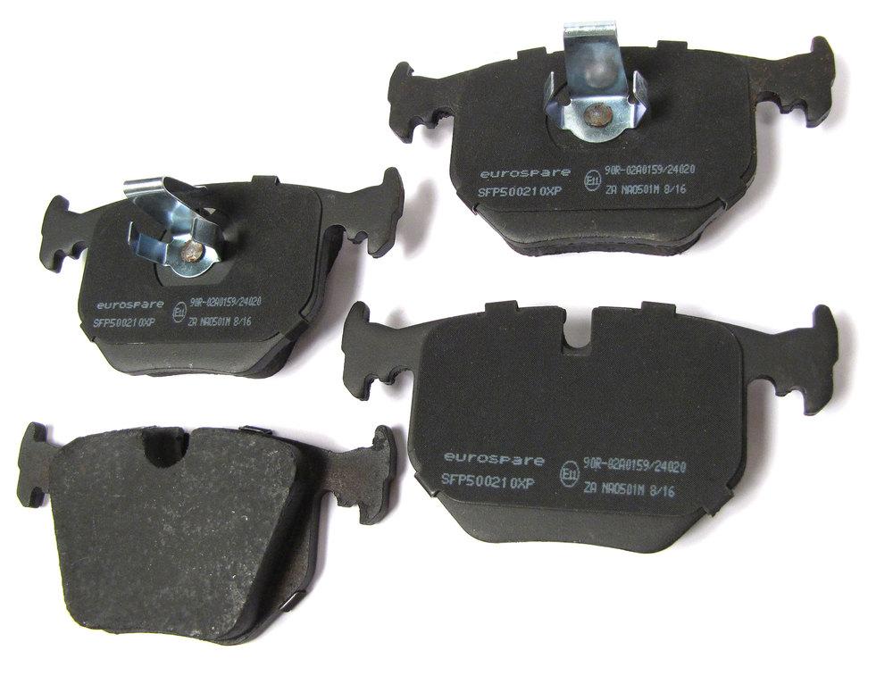 Rear Brake Pads SFP500210, EurospareXP Premium, For Range Rover Full Size L322, 2003 - 2005