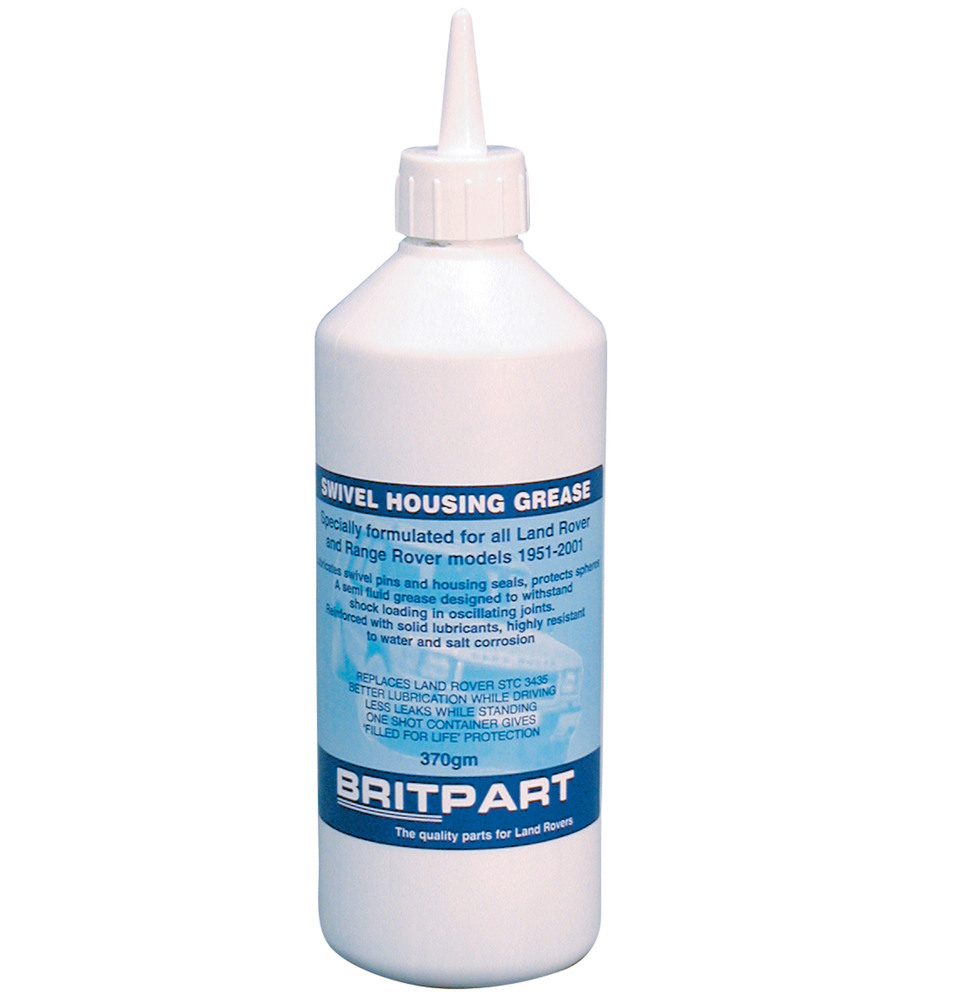 Swivel Housing Grease STC3435, 13OZ / 370GM Bottle By Britpart, For Land Rover Discovery I, Defender 90 And 110, And Range Rover Classic