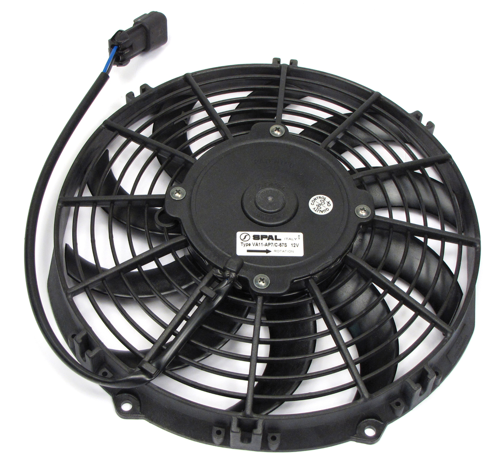 Land Rover Genuine A/C Condenser Fan And Motor For Land Rover Defender 90 (1997 Only)