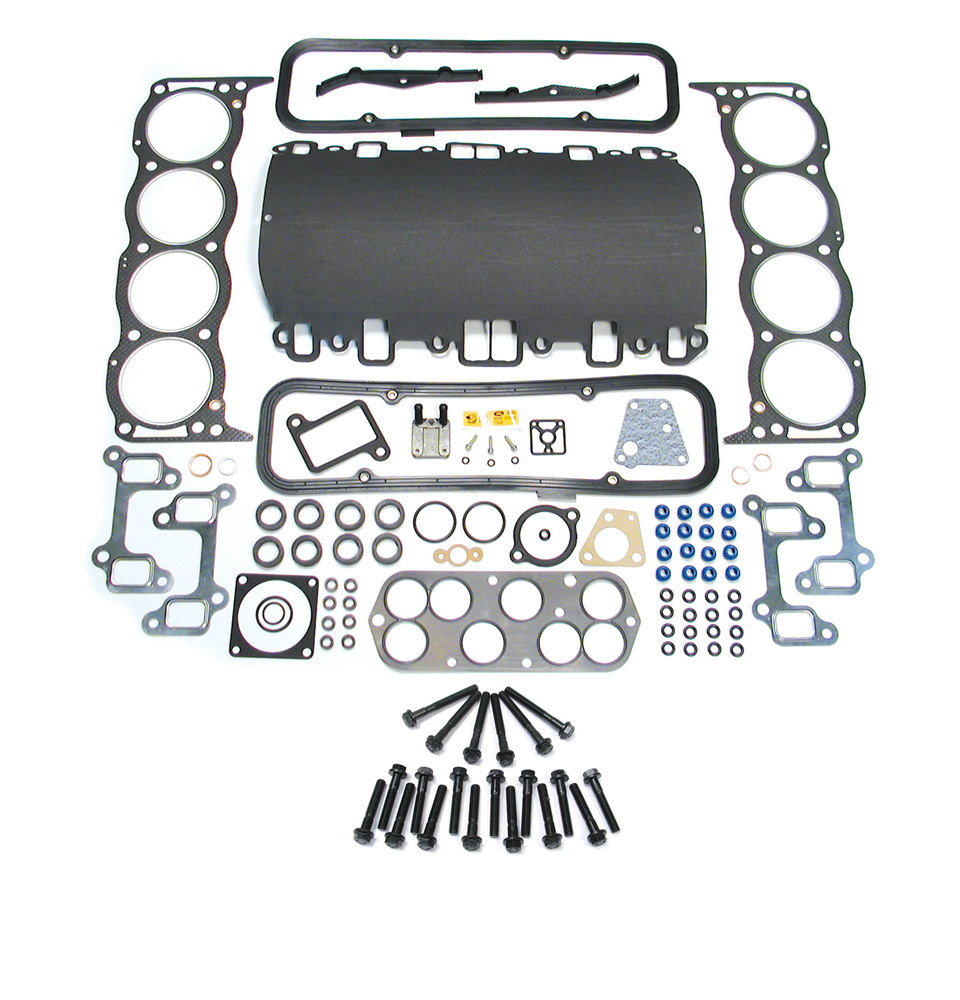 Premium Head Gasket Set STC4082, Composite Upgraded Elring Gaskets For V8 BOSCH Motors, Includes Head Bolt Set, For Land Rover Discovery Series II And Range Rover P38