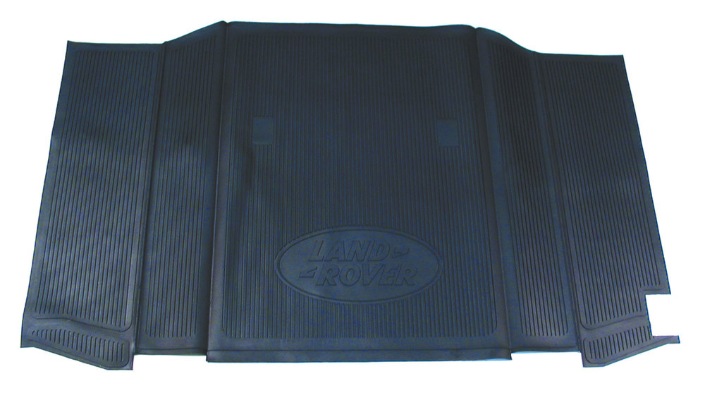 Genuine Cargo Liner / Loadspace Mat STC4629, Black Rubber, For Land Rover Defender 90, 1994 - 1995