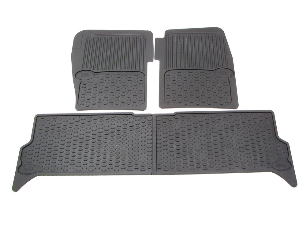 Land Rover Discovery Series II rubber floor mat set