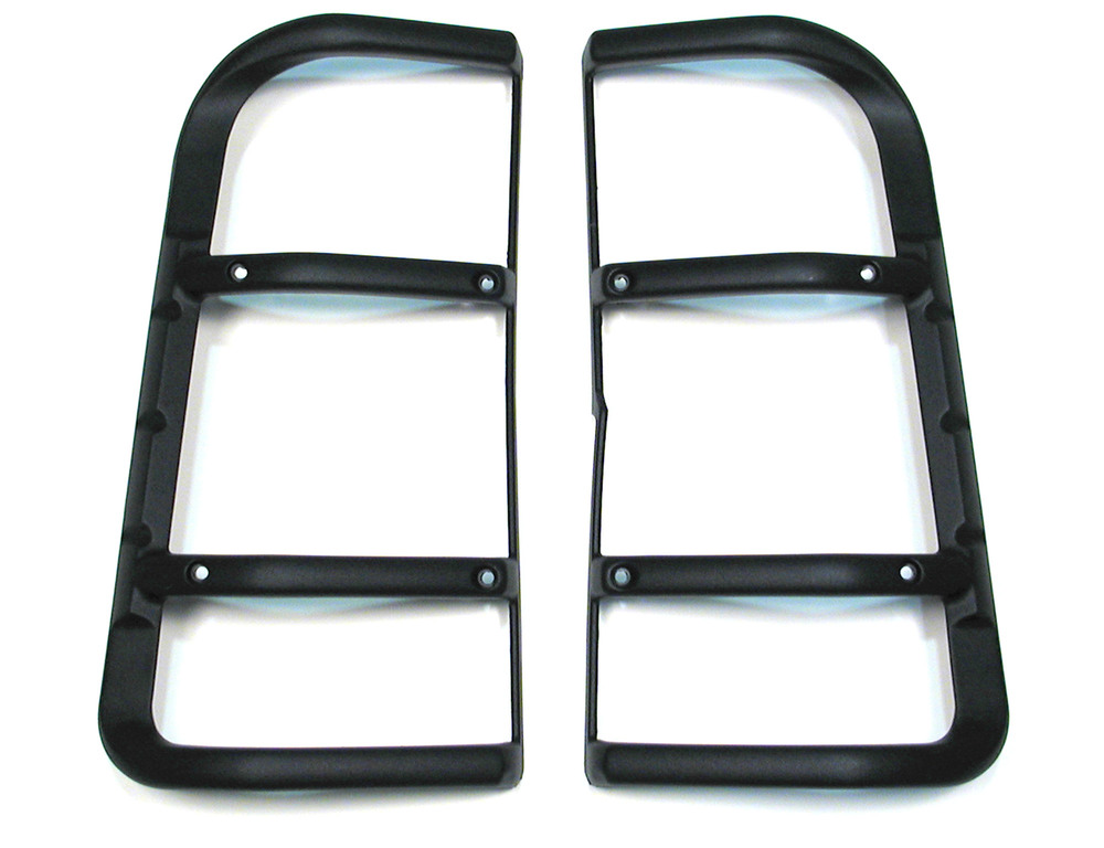 Genuine Lamp Guards STC53194, Rear Upper Pair, G4 Style, For Land Rover Discovery Series II, 2003 - 2004