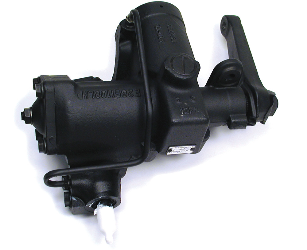 Steering Box, New With Drop Arm, Original Equipment By Adwest, For Land Rover Discovery I And Range Rover Classic 1992 - 1995