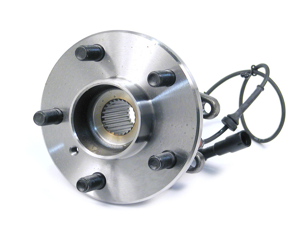 Rear Hub Assembly With ABS Sensor TAY100050, Original Equipment, For Land Rover Discovery Series II