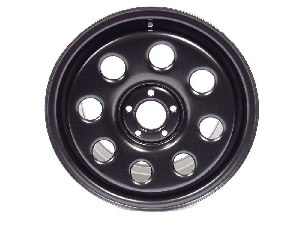 Terrafirma black steel wheel