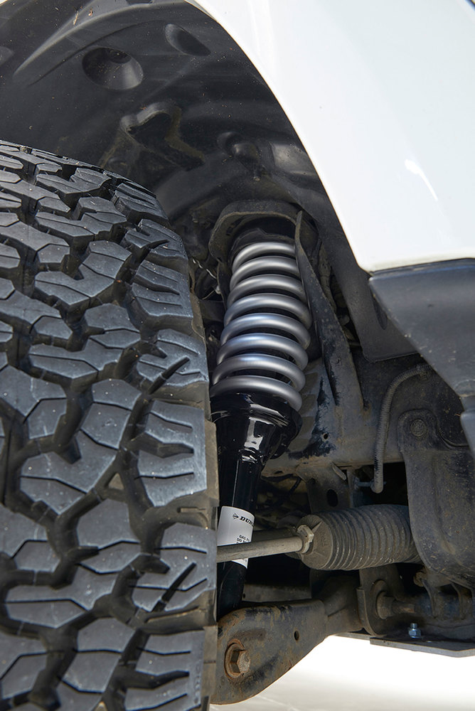 Terrafirma Lifted Profile Air Suspension To Coil Spring Conversion Kit, 2-Inch Lift, For Land Rover LR3 With New Struts, Coil Springs, And EAS Reflash Management Software By Dunlop