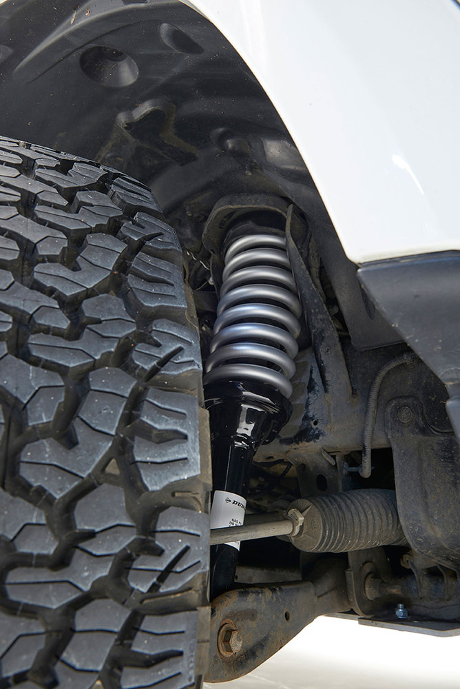 Terrafirma Lifted Profile Air Suspension To Coil Spring Conversion Kit, 2-Inch Lift, For Land Rover LR4, With New Struts, Coil Springs, And EAS Reflash Management Software By Dunlop