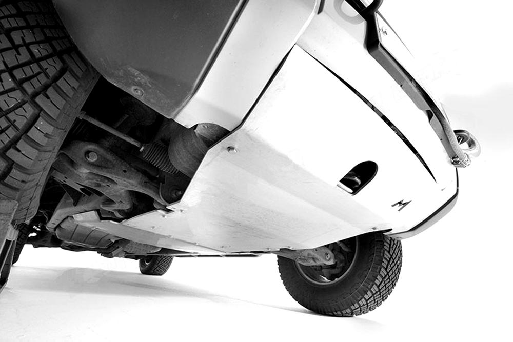 Terrafirma Alloy Steering Skidplate For Land Rover LR3 And Range Rover Sport, 2005 - 2009