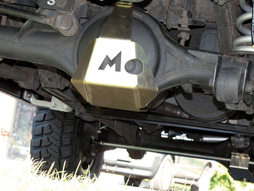 Rear Differential Guard Offroad Protector By Terrafirma For Land Rover Discovery Series II