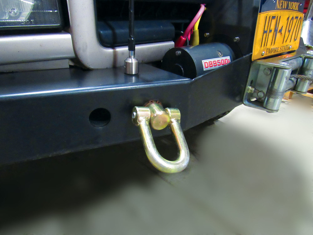 Swivel Recovery Point Shackle By Terrafirma (For Heavy Duty Steel Bumpers)