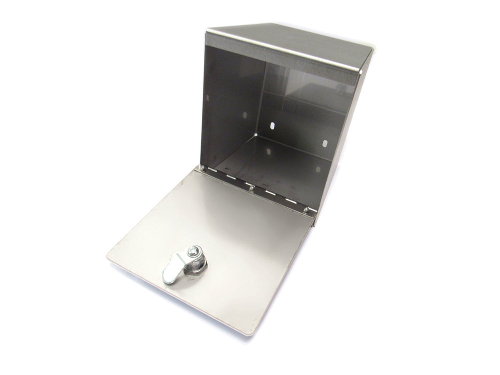 Tuff Rok Stainless Steel Cubby Safe For Land Rover Discovery Series II