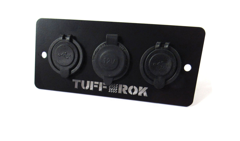 Tuff Rok Ashtray Power Panel for Discovery Series II