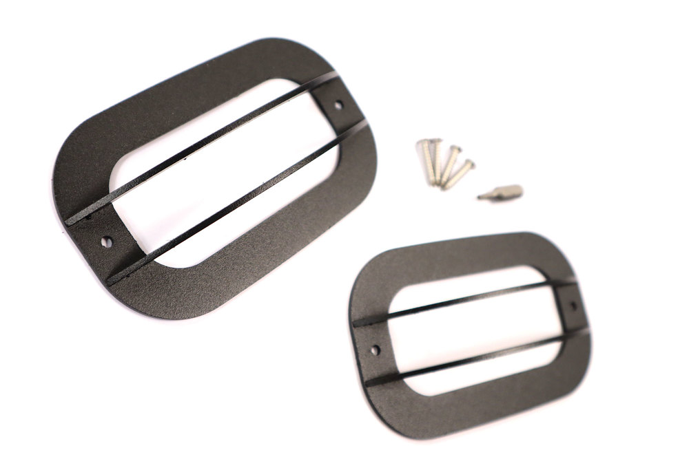 Side Marker Repeater Lamp Guards By Tuff-Rok For Land Rover Discovery Series II