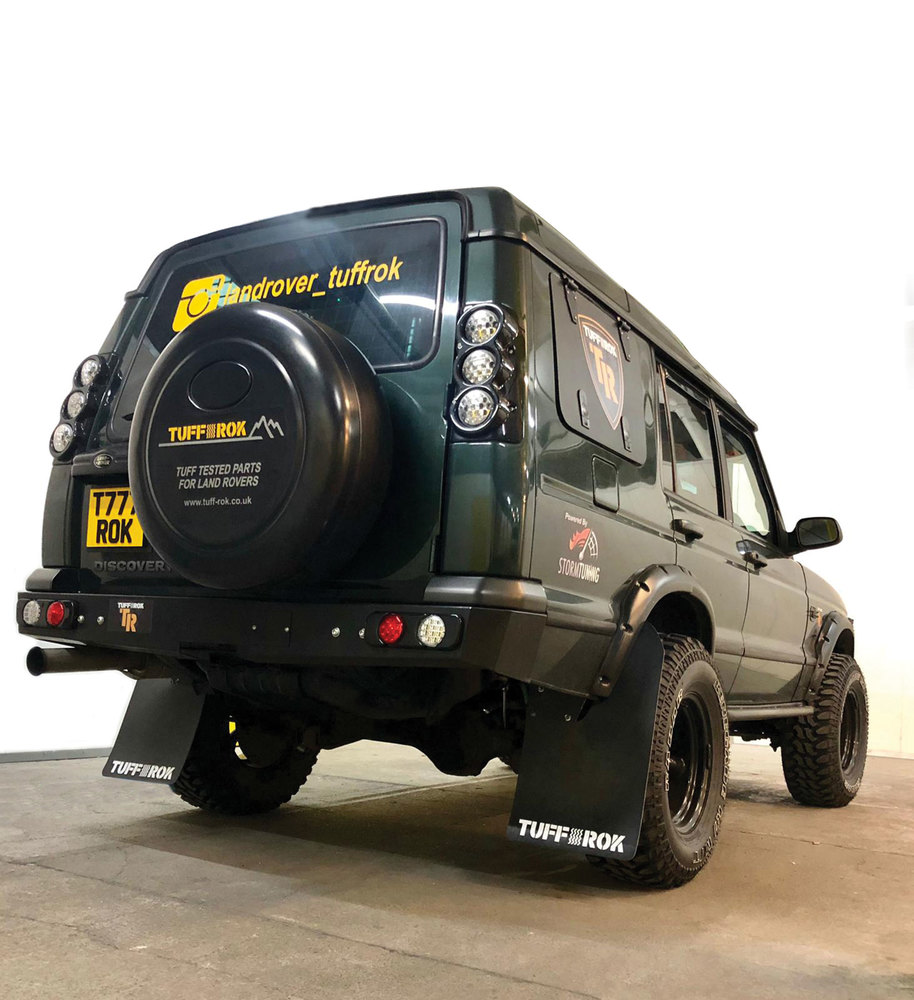 Gullwing Window Kit on Land Rover Discovery Series II