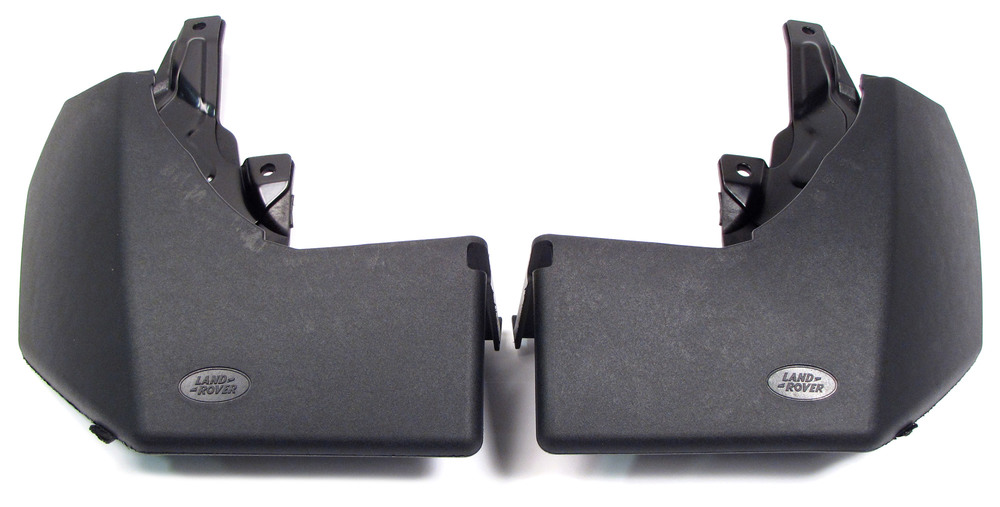 Genuine Rear Mud Flap Kit VPLAP0017, Pair, For Land Rover LR3 And LR4