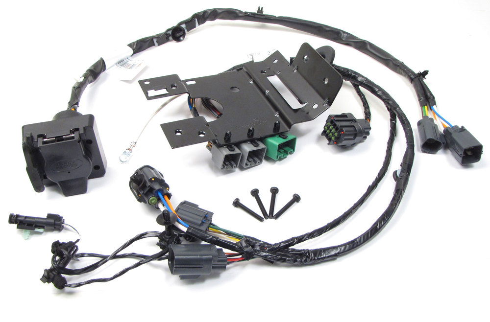 Genuine Trailer Wiring Kit VPLST0016, Includes Flat-4 And 7-Way Connectors, For Range Rover Sport, 2010 - 2011