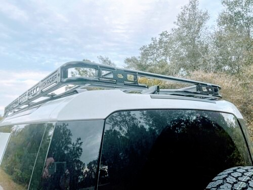 Overland Roof Rack, Low Profile Height, By Voyager Offroad, For Land Rover Defender 110 New Generation L663, 2020 - On