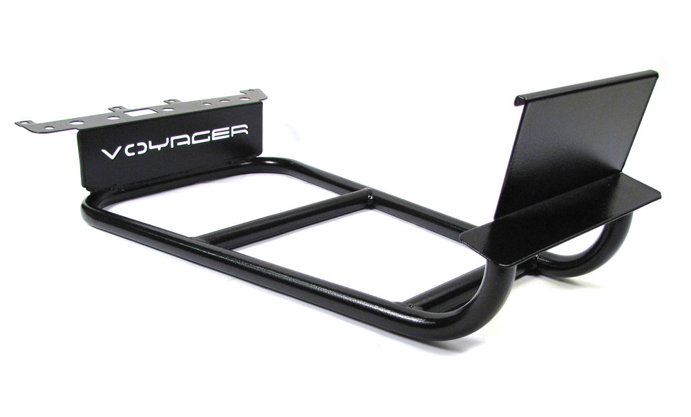 Roof Rack Half Ladder By Voyager Offroad For Land Rover LR3 And LR4