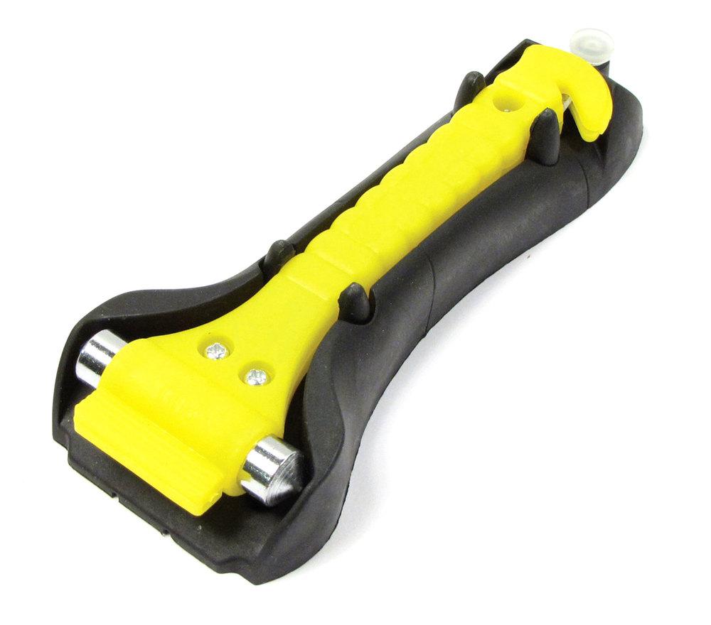 Tool: Emergency Hammer & Seatbelt Cutter Escape Tool
