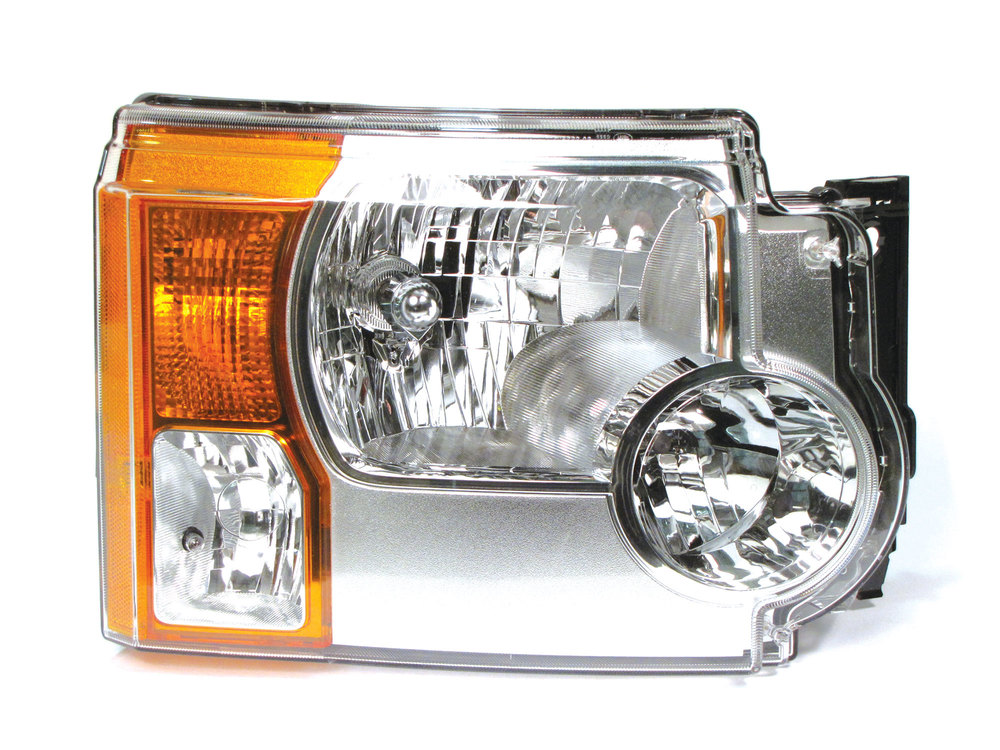 Genuine Halogen Headlight Assembly XBC500362, Right Hand, For Land Rover LR3