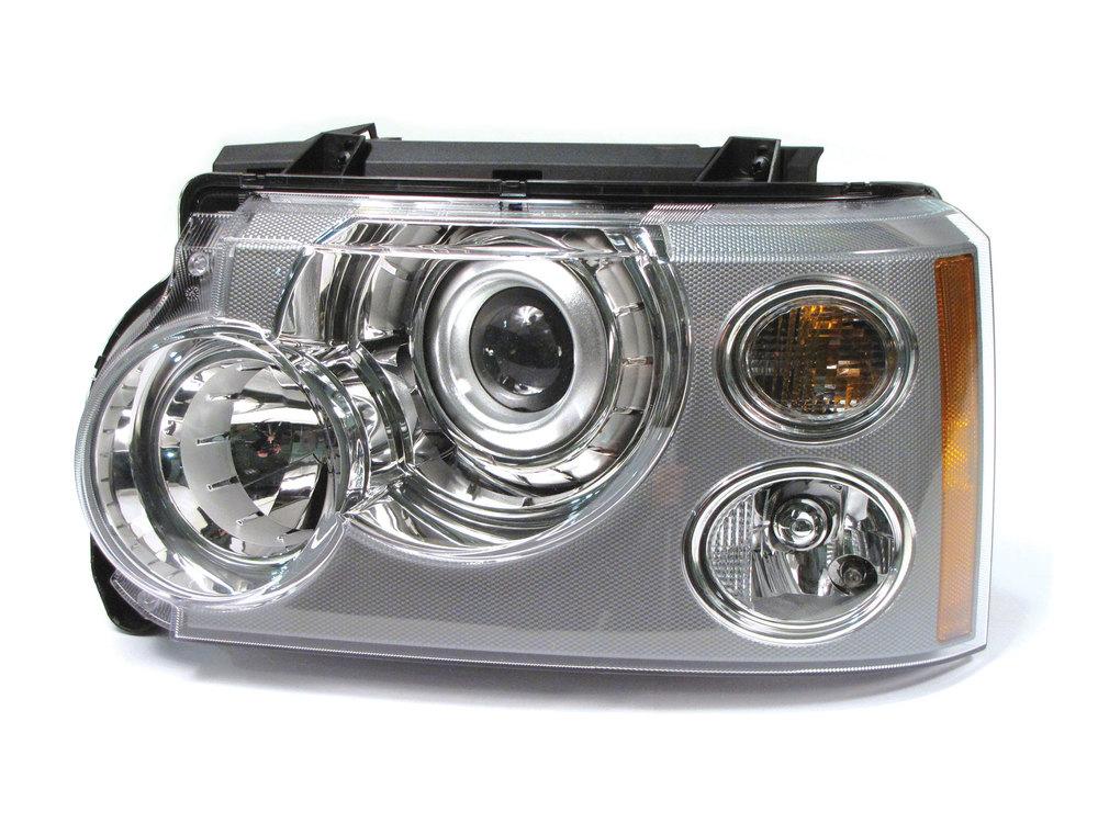 halogen headlamp assembly