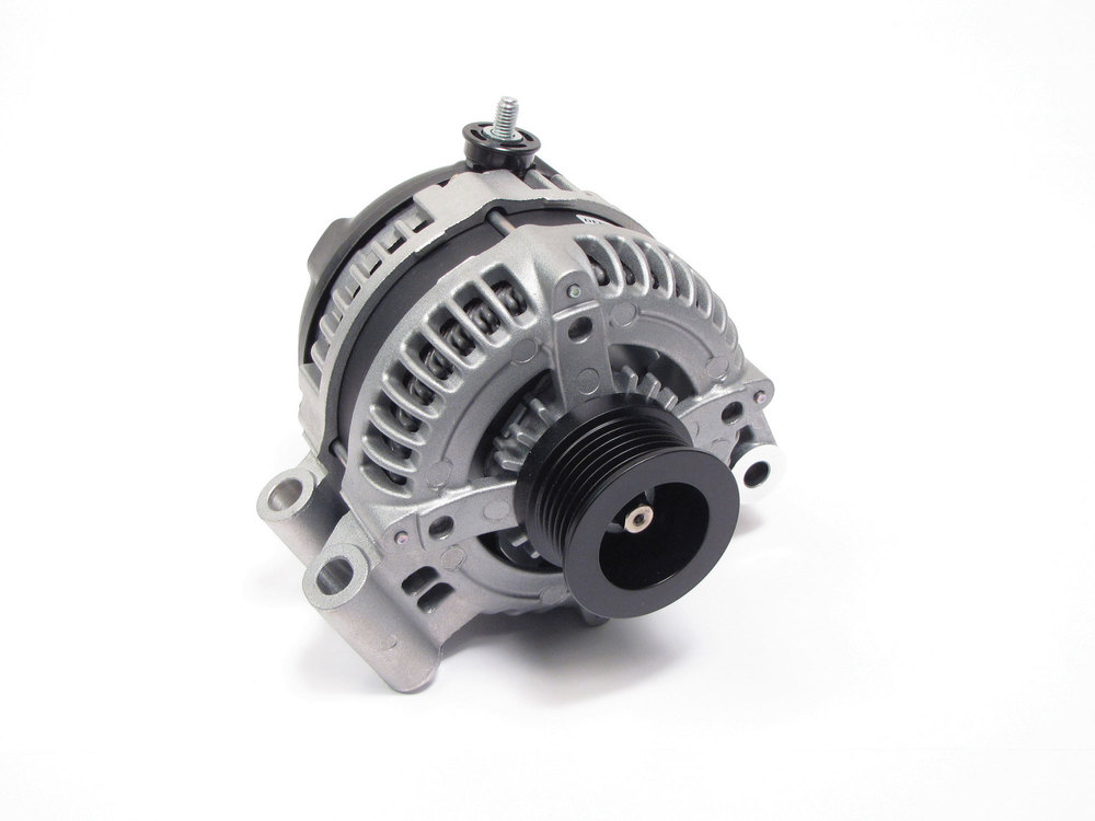 Alternator, Original Equipment YLE500390, For Land Rover LR3, Range Rover Full Size L322 And Range Rover Sport, 2005 - 2009