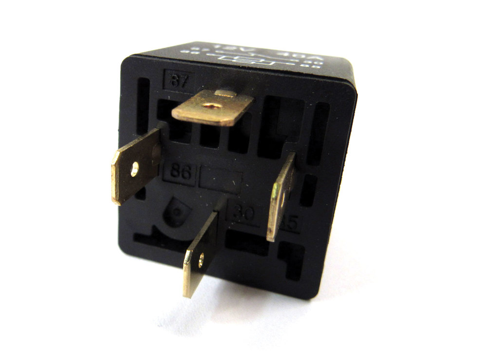 Relay For Multiple Applications, Now Supplied In Black, For Land Rover Discovery Series II, Freelander And Range Rover P38
