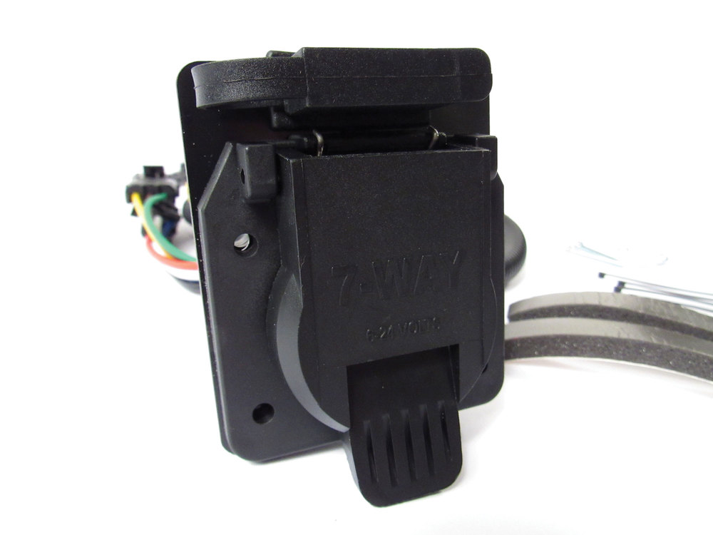 Trailer Wiring Kit By Atlantic British For Land Rover LR3, Includes Flat-4 And 7-Way Connectors