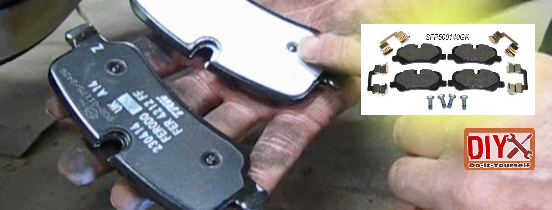 Land Rover brake pads