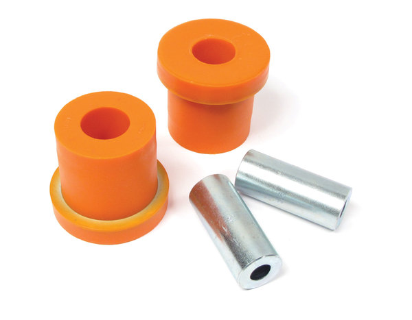 Polyurethane Bushings By Polybush, Pair, Front Lower Suspension Rear Of Arm (Orange / Standard Firmness) For Range Rover Sport 2006 - 2013