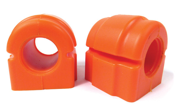 Front Sway Bar Polyurethane Bushing By Polybush, Orange Pair (Standard Firmness) For Range Rover Full Size L322
