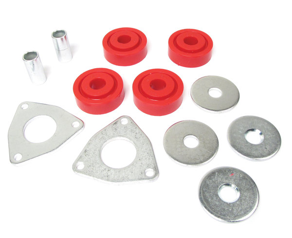 Polyurethane Suspension Bushing Kit By Polybush, Radius Arm To Chassis, For Land Rover Discovery I, Defender 90 And Range Rover Classic