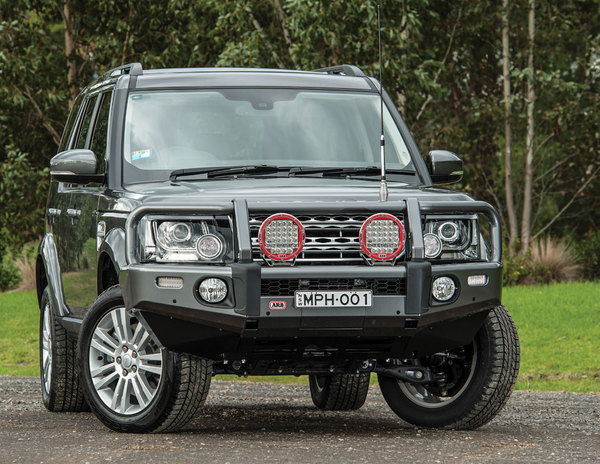 ARB Summit Steel Bumper & Bull Bar With Winch Mount
