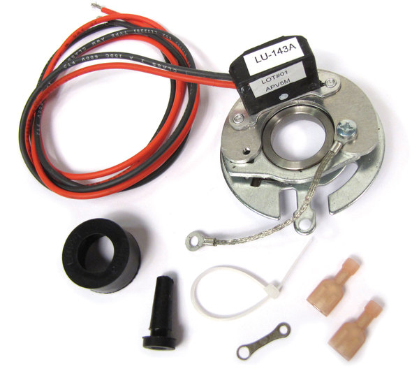 Pertronix Electronic Ignition Retrofit For Stock Flat Cap Red Point Distributors On Land Rover Series