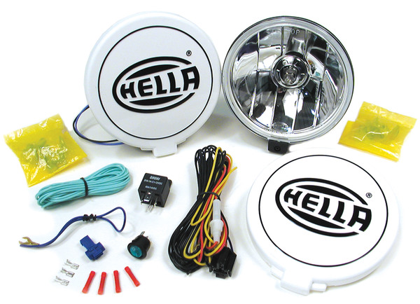 Hella 500FF Performance Driving Lamp Kit (Includes A Pair Of Lights)