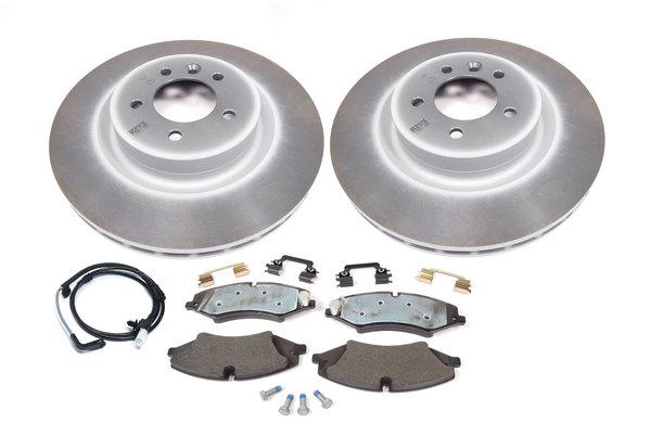 brake rotors, pads and wear sensor