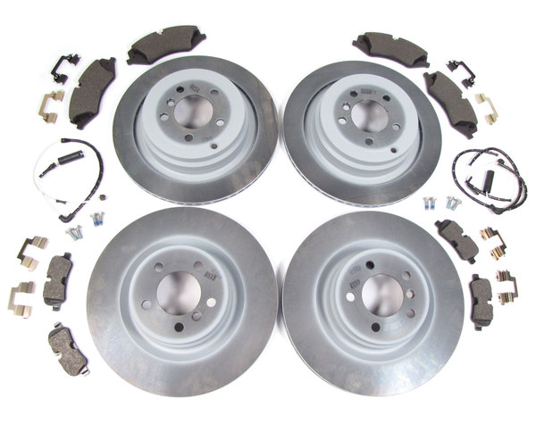 brake rebuild kit with pads and rotors
