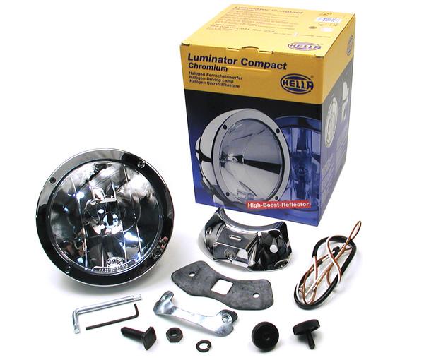 Hella Rallye 4000 Compact Driving Lamp - Chrome