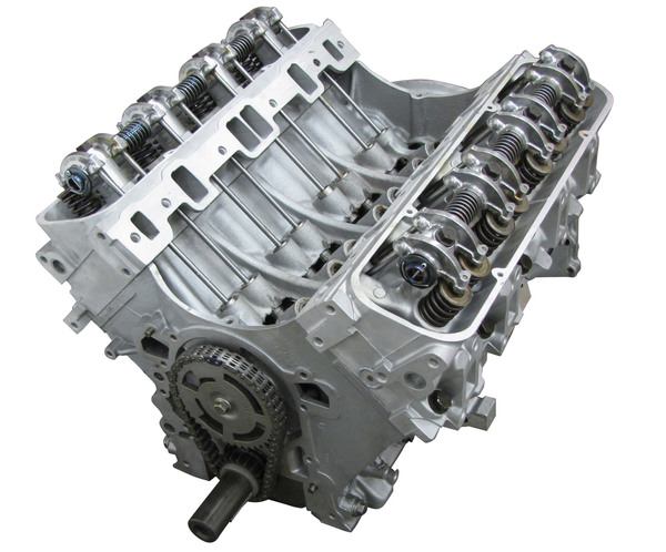 Land Rover Engine: Remanufactured 4.0 GEMS Long Block Engine Without Secondary Air; Set-Up With Cylinder Heads And Rockershaft (Core Charge Additional)
