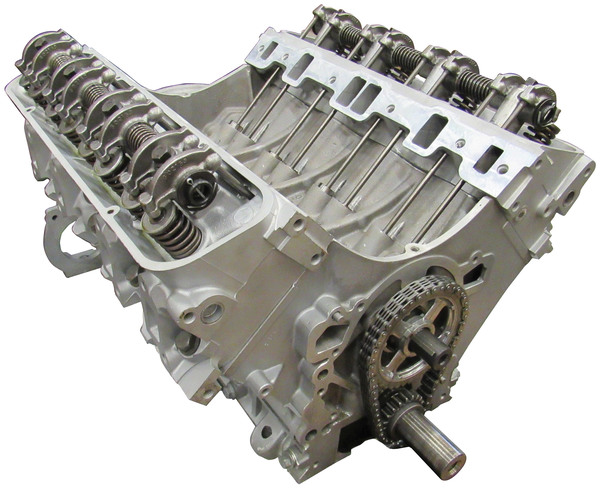 Land Rover 4.6 Engine: Remanufactured Long Block For Vehicles With Distributors; Includes Cylinder Heads And Rockershaft (Core Charge Additional)