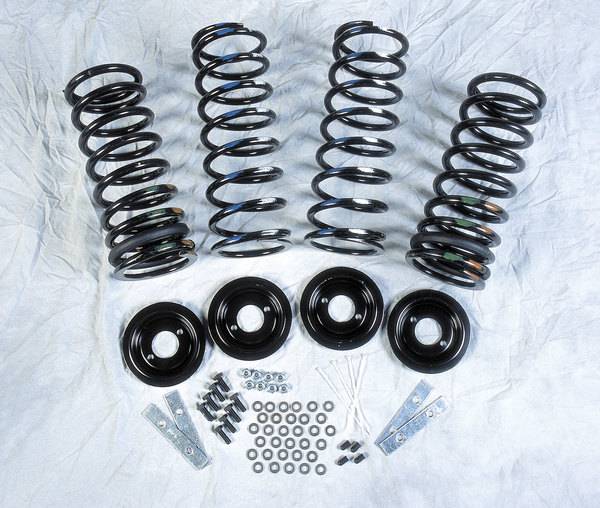 Air Suspension To Coli Spring Conversion Kit With Standard Profile Coil Springs For Range Rover Classic 1993 - 1995