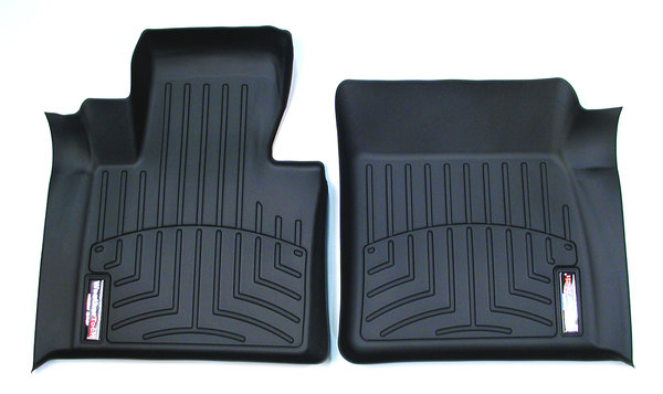 Floorliner™ Molded Mat By Weathertech® Front Pair Black